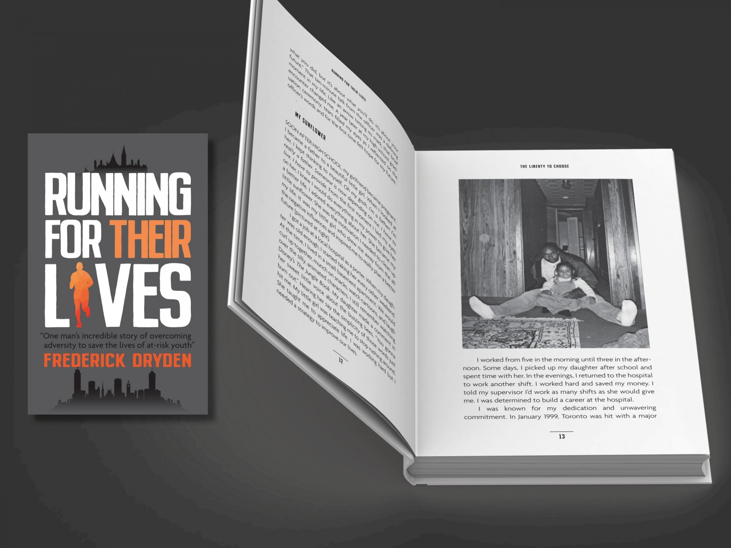Running for their lives book