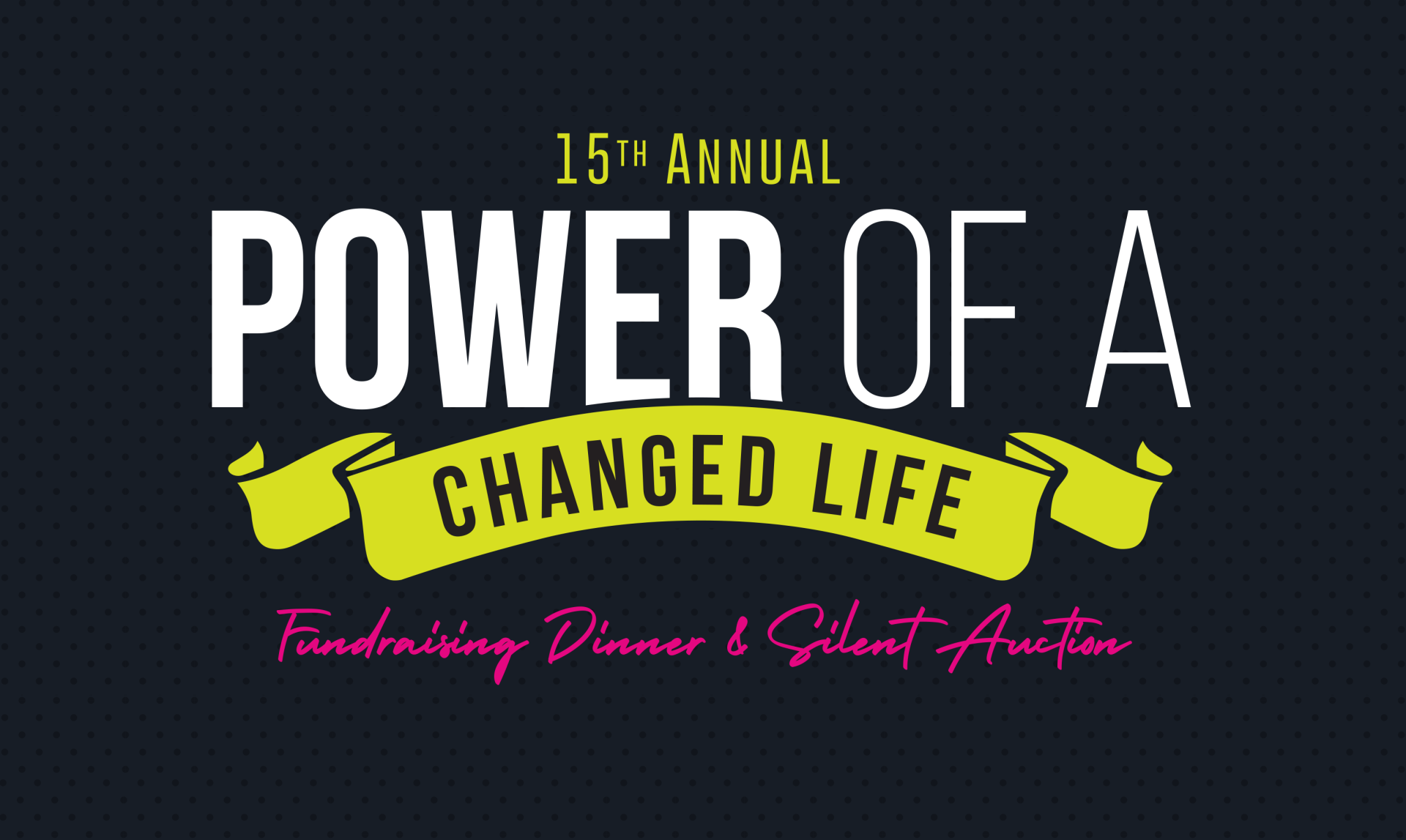 Fundraising Gala: Join us for an evening of inspiration